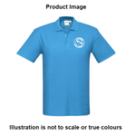 Alkimos Scout Group - Cyan Crew Polo Mens