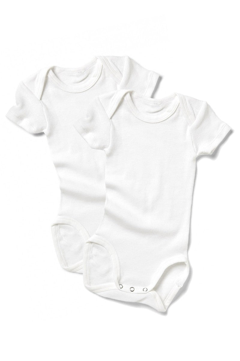 Bonds Short Sleeve Bodysuit 2 Pack