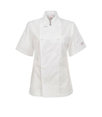 Ladies Executive Chefs Lightweight Jacket - Short Sleeve