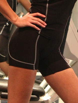 Cropped Bike Shorts Ladies/Kids - Performance Wear
