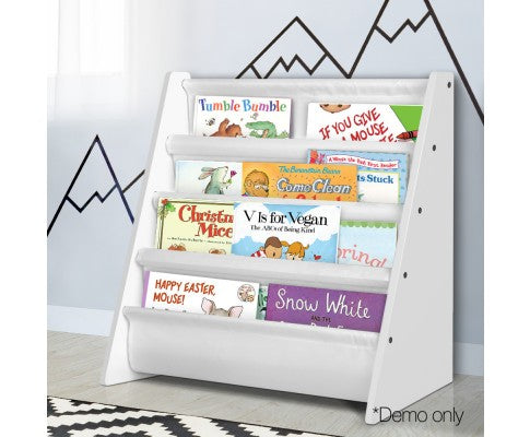Kids Bookshelf Magazine Storage Unit