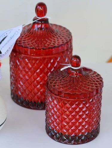 Geo Jar Candle - Small