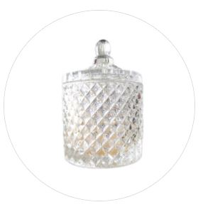 Geo Jar Candle - Large