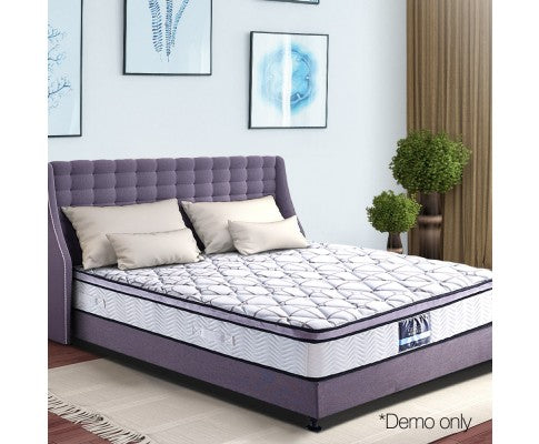 Cool Gel Memory Foam Euro Top Pocket Spring Mattress Double