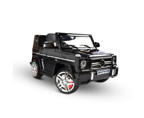 Kids Ride on Car w/ Remote Control Black Mercedes G65