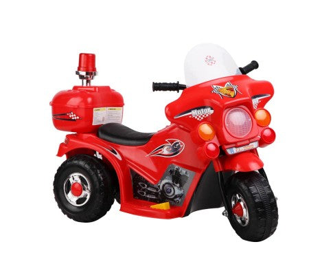 Kids Ride on Motorbike Red Police