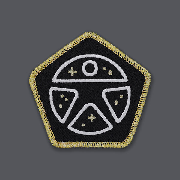 Always With Honor Metallic Thread Patch