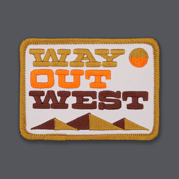 DDC Draplin Way Out West patch