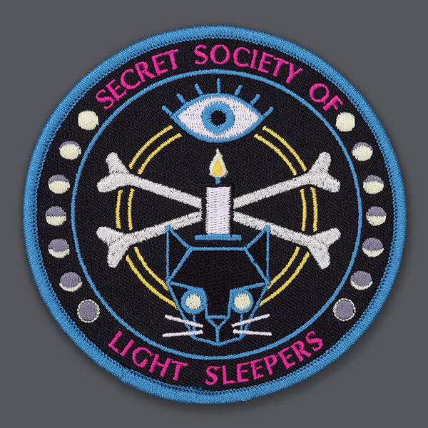 Secret Society of Light Sleepers patch
