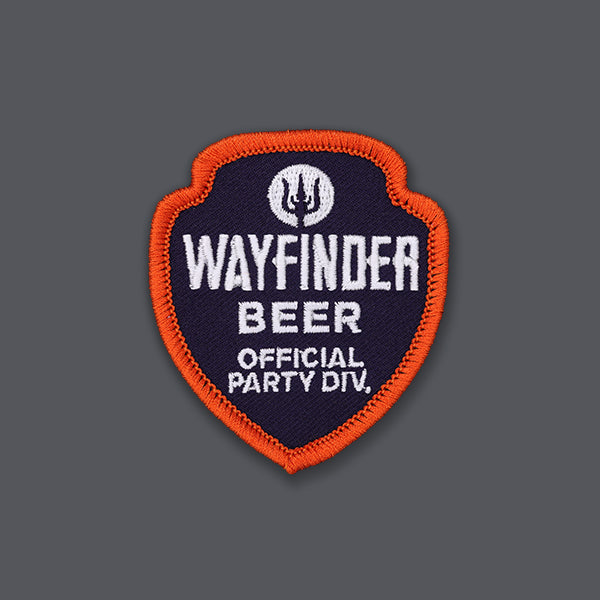 Wayfinder beer official party division patch