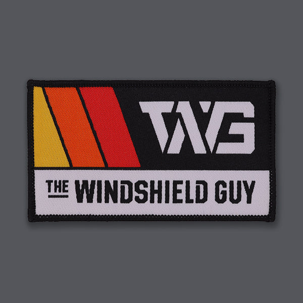 windshield guy woven patch