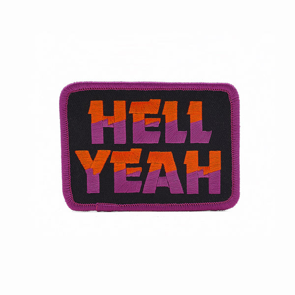 DDC Draplin HELL YEAH patch