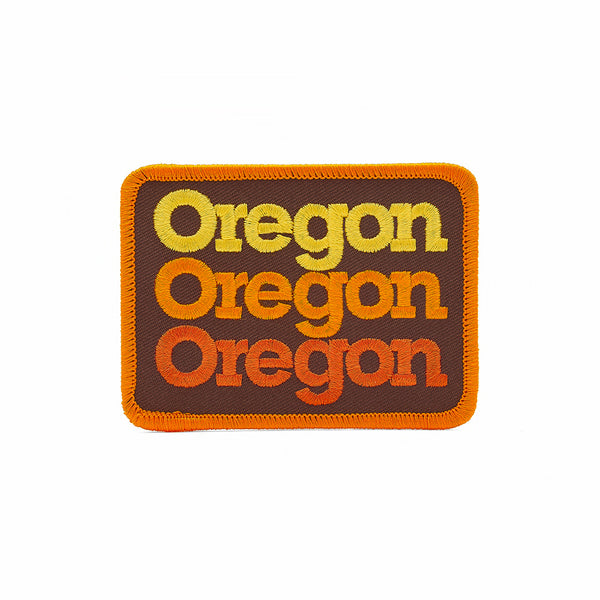 Draplin DDC Oregon stacked patch