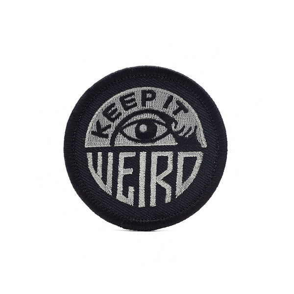 inchXinch Friends Of Type keep it weird patch