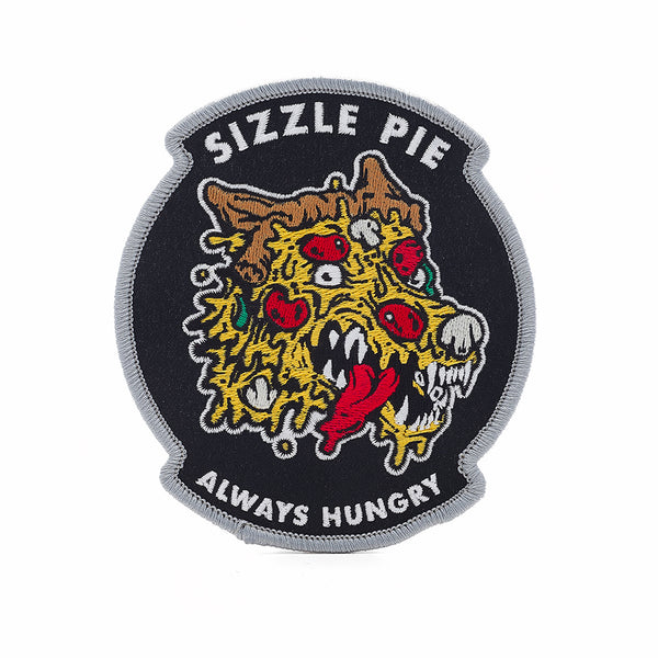 Sizzle pie / PPHQ pizza wolf patch