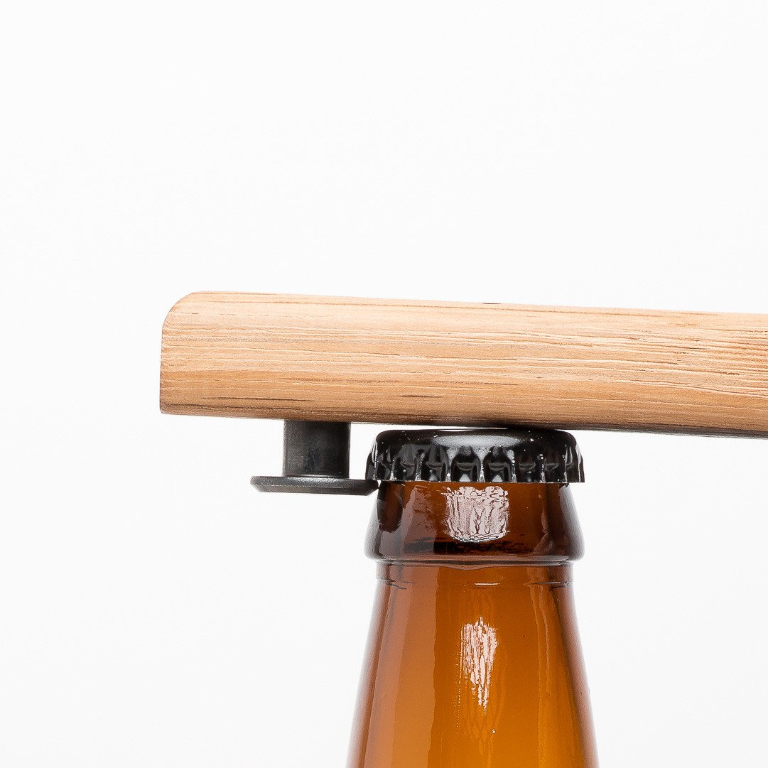 Quercus Alba Wood Bottle Opener Brewery Outfitters