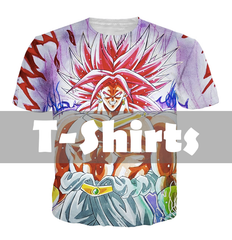 Dragon Ball Z T-Shirts clothing shirts