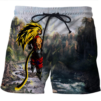 super saiyan 5 vegeta dbz dragon ball super board shorts pants clothing shorts