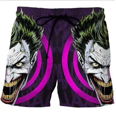 Batman Joker Board shorts swim trunks