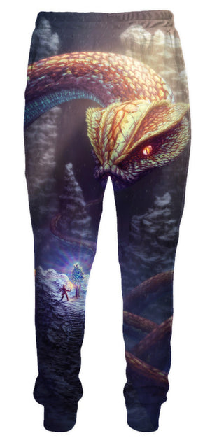 snake sweatpants luxury designer clothing clothes pants
