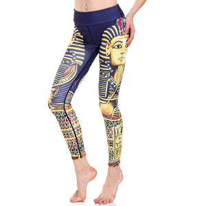 Egyptian Style Yoga Pants - 3D Printed Sexy Leggings-Hoodie Time - Anime and Gaming Hoodies