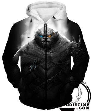 rengar zip up hoodie league of legends