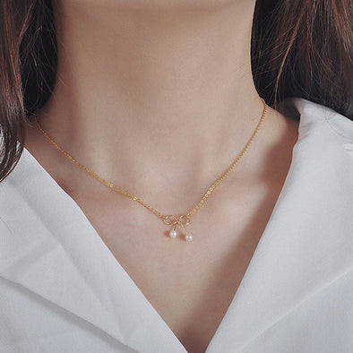 14k Gold Filled Hand Made Jewelry - 18k Dainty Bow Tie Pendant Necklace-Hoodie Time - Anime and Gaming Hoodies