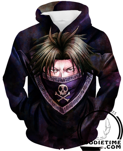 Hunter X Hunter - Feitan Charges Hoodie - 3D Pullover Hoodie-Hoodie Time - Anime and Gaming Hoodies