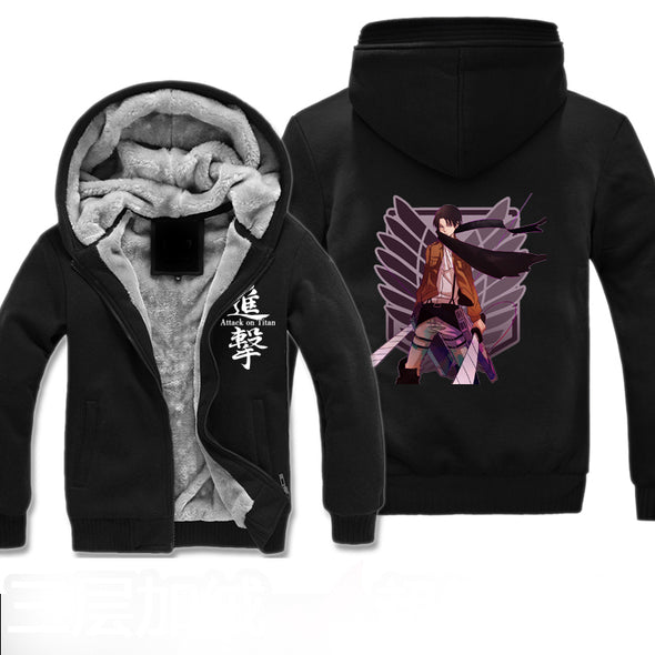 Attack on Titan Fleece jacket