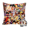 All Character Goku, Vegeta, Broly, Freeza Throw Pillow - Dragon Ball Z Couch Pillow - Double Printed-Hoodie Time - Anime and Gaming Hoodies