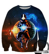 Avatar The Last Airbender Sweaters - Aang Avatar Mode Sweatshirt - 3D Clothing-Hoodie Time - Anime and Gaming Hoodies
