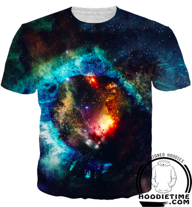Beautiful Galaxy T-Shirt - 360 Printed Clothing-Hoodie Time - Anime and Gaming Hoodies