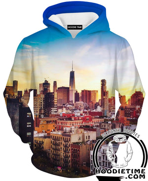Chicago City Hoodie - Chicago City Clothes-Hoodie Time - Anime and Gaming Hoodies