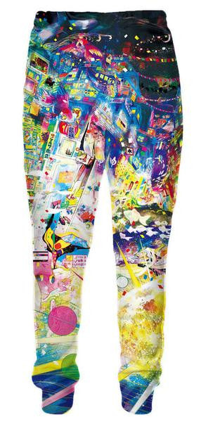 Color of Hong Kong Sweatpants - 3D Pants and Clothing-Hoodie Time - Anime and Gaming Hoodies