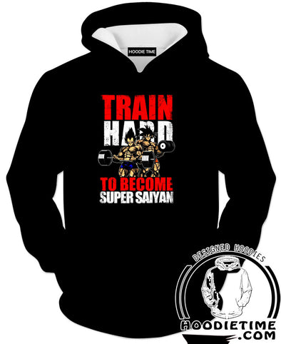 Train Hard to be super saiyan