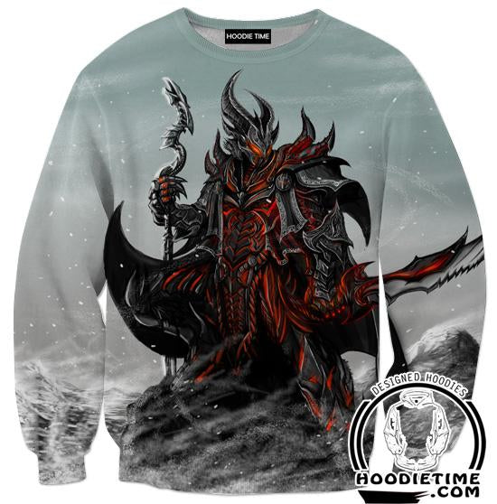 Elder Scrolls Sweatshirt - Skyrim and Oblivio Sweaters Gaming