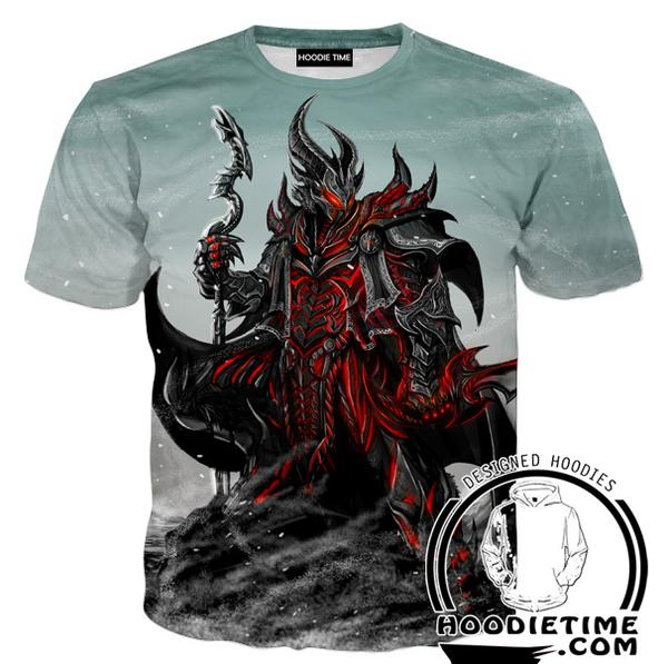 Elder Scrolls T-Shirt - Skyrim and Oblivio Shirts  Gaming