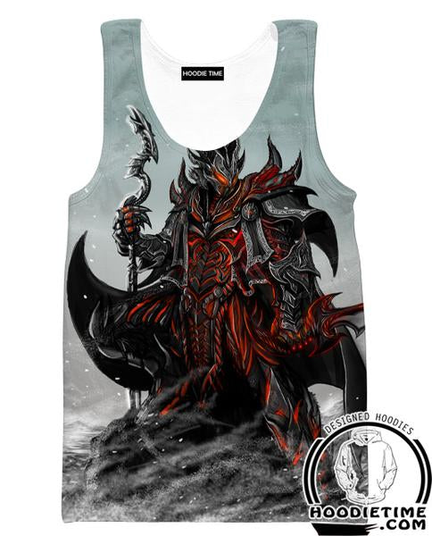 Elder Scrolls Tank Top - Skyrim and Oblivio Gym Shirts  Gaming
