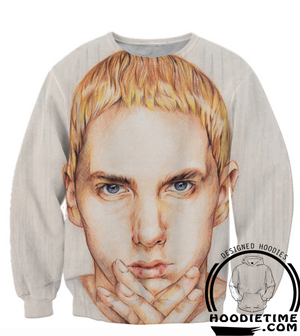 Eminem Clothing - Slim Shady Face Sweatshirt - 3D Hip-Hop Sweaters-Hoodie Time - Anime and Gaming Hoodies