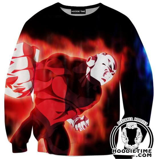 Engaged Jiren Sweatshirt - Dragon Ball Super Sweaters Clothing-Hoodie Time - Anime and Gaming Hoodies