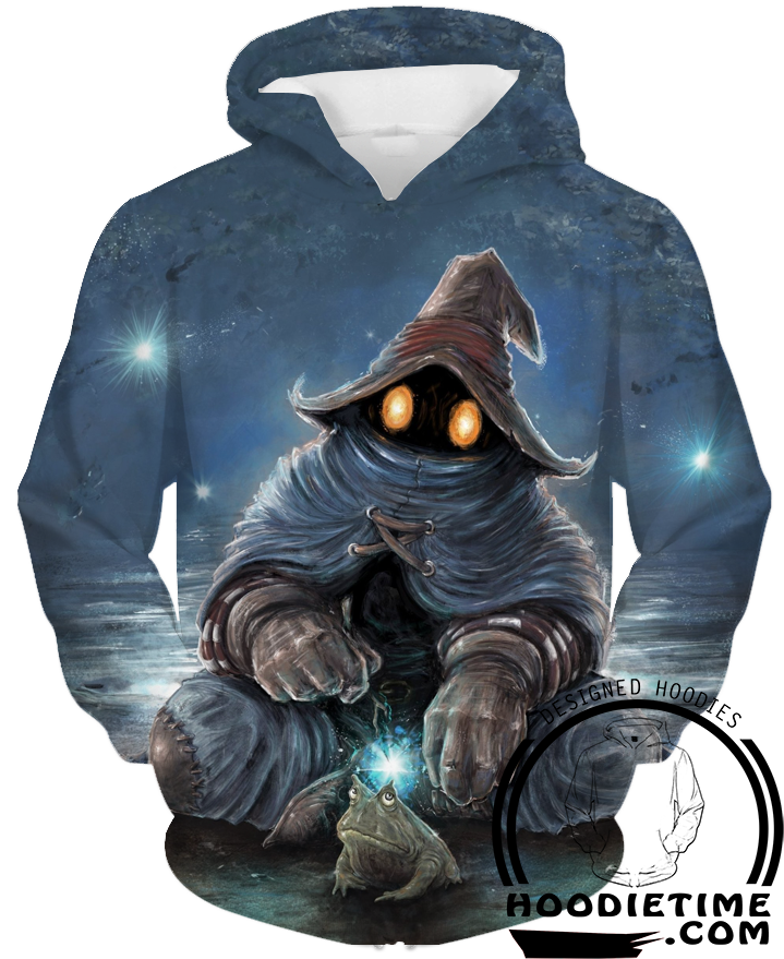 Black Mage Final Fantasy 3d hoodie pullover hoodies