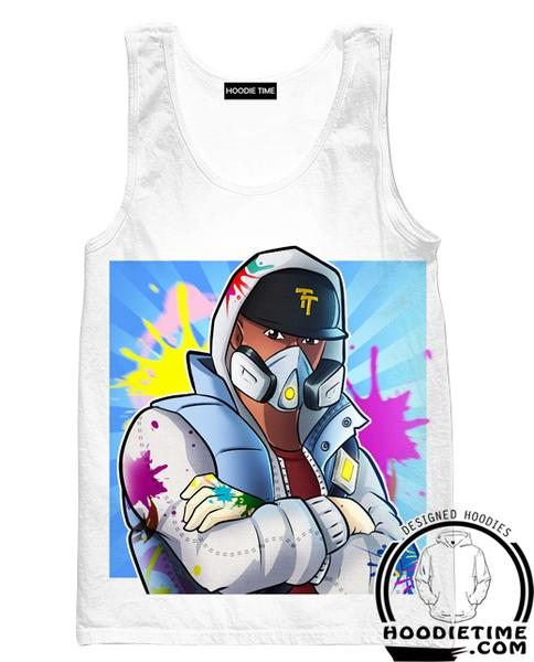 Fortnite ABSTRAKT Tank Top - Funk Ops Fortnite Gym Shirts and Clothing