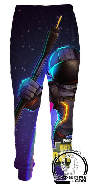 Fortnite Astronaut Sweatpants - Battle Royale Pants Gaming Clothing-Hoodie Time - Anime and Gaming Hoodies