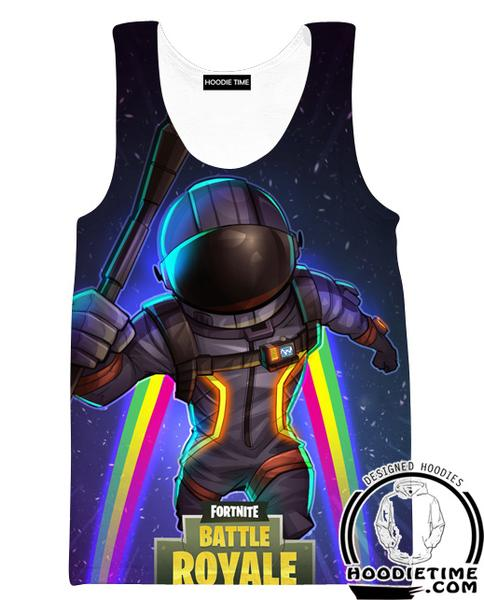 Fortnite Astronaut Tank Top - Battle Royale Gym Shirts Gaming Clothing-Hoodie Time - Anime and Gaming Hoodies
