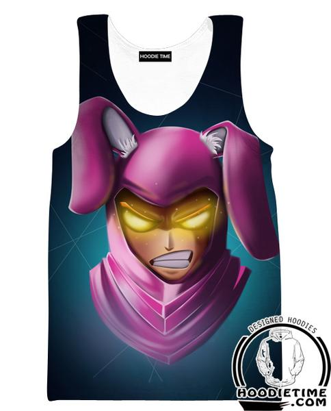 Fortnite Bunny Skin Tank Top - Fortnite Gym Shirts Clothing-Hoodie Time - Anime and Gaming Hoodies