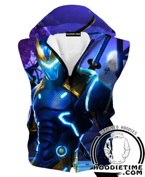 Fortnite Funk Ops Hooded Tank - Funk Ops Fortnite Hoodies and Clothing
