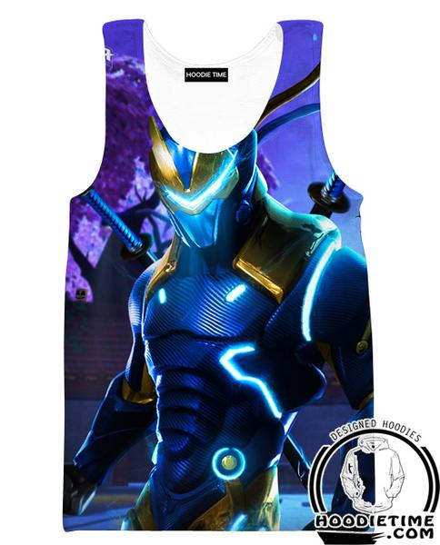 Fortnite Funk Ops Tank Top - Funk Ops Fortnite Gym Shirts and Clothing