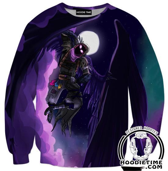 Fortnite Grim Reaper Sweatshirt - Fortnite Sweaters Clothing-Hoodie Time - Anime and Gaming Hoodies
