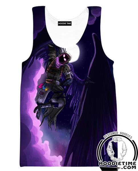 Fortnite Grim Reaper Tank Top - Fortnite Gym Shirts Clothing-Hoodie Time - Anime and Gaming Hoodies