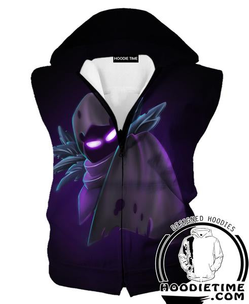 Fortnite Hooded Tank - Fortnite Clothing and Apparel-Hoodie Time - Anime and Gaming Hoodies